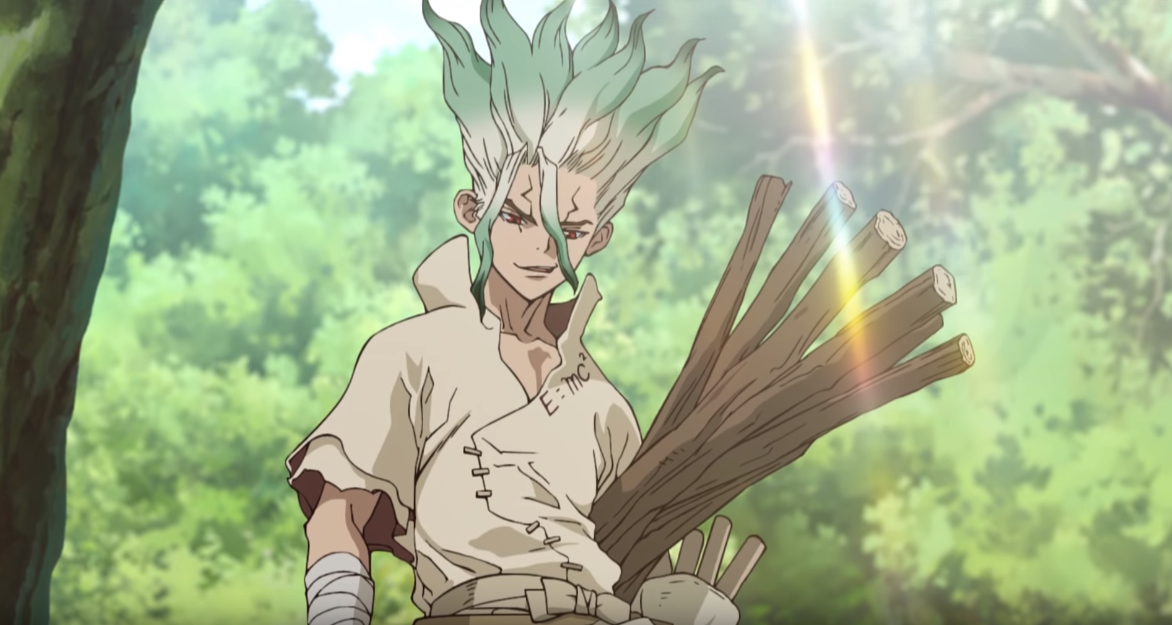 Dr Stone Anime Reveals Its New Trailer Manga Thrill