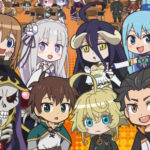 Isekai Quartet Anime is On Crunchyroll's Streaming Line From Now On