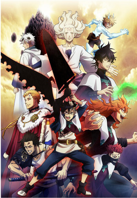 Anime Updates For Attack On Titan Black Clover And The Rising Of The Shield Hero Aurabolt S Anime And Manga Asta and yuno, two orphans living in the small hage village, share a dream—to become the wizard king! the rising of the shield hero