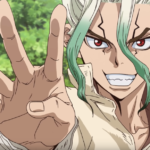 Dr. Stone Anime's Ad