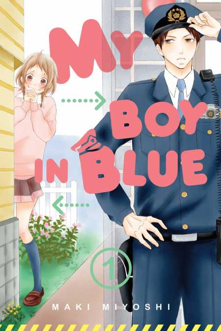 My Boy in Blue Manga