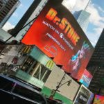 Dr. Stone Anime's Ad In New York's Time Square Catches Creator's Attention