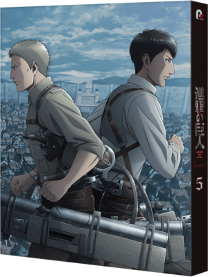 Attack on Titan Season 3 Vol  5 Blu-ray/DVD Release Date 24