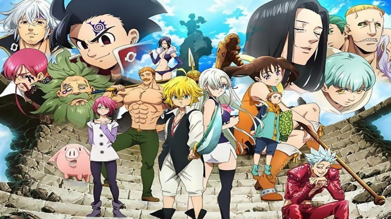 Seven Deadly Sins Season 3 Wrath of The Gods