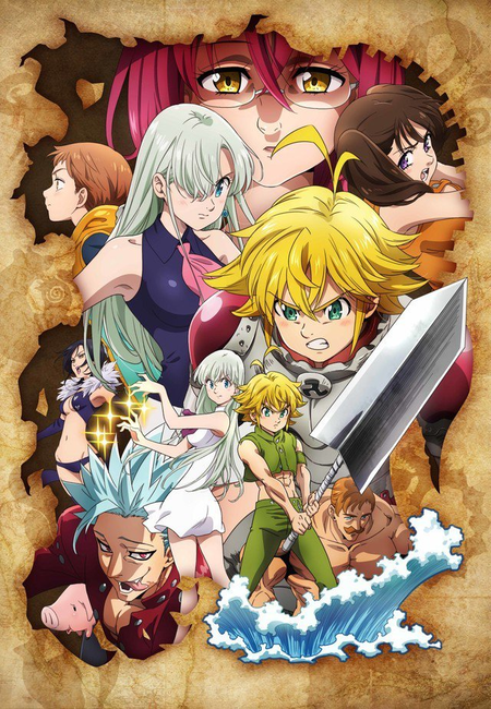 The Seven Deadly Sins Season 3 Release Date on September 2019