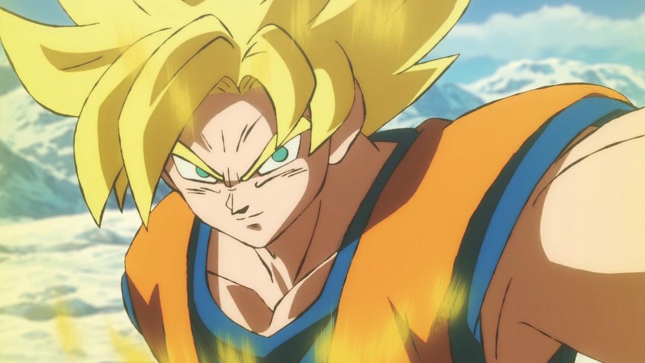 Dragon Ball Super Goku Vs Broly