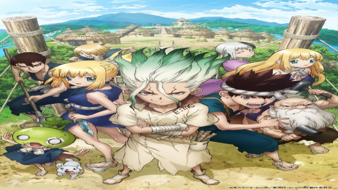 Dr Stone İntroduces New Characters With New Key Visual