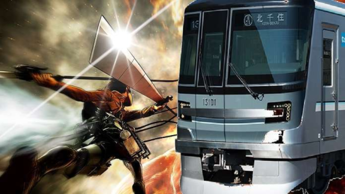 Japan Promotes Subway Safety with Attack On Titan Signs