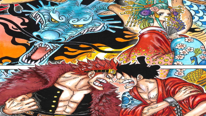 One Piece Chapter 952