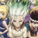 Dr. Stone Anime Releases First Toonami Promo