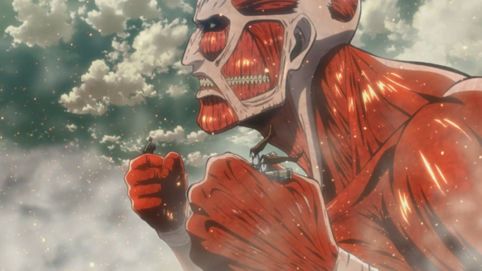 Attack on TItan Colossal Titan