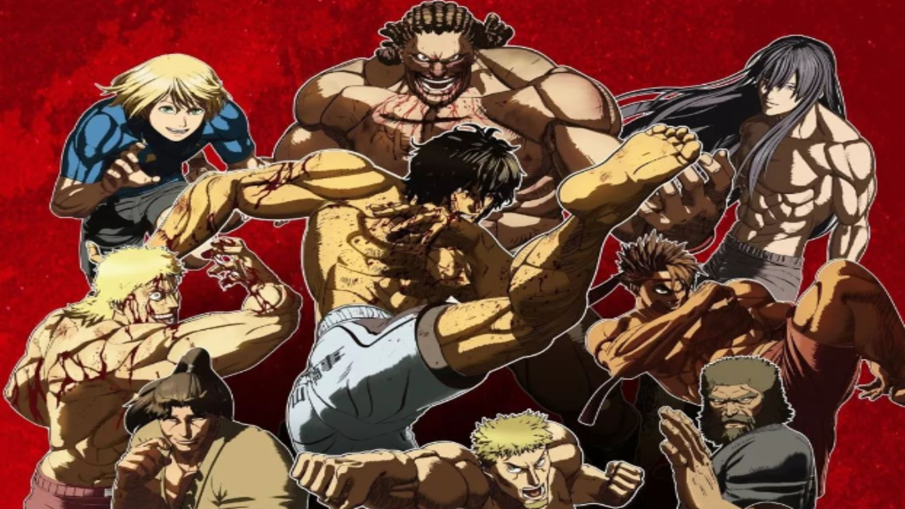 Kengan Ashura Anime Part 2 Has Been Announced And Will Distributed By Netflix Manga Thrill