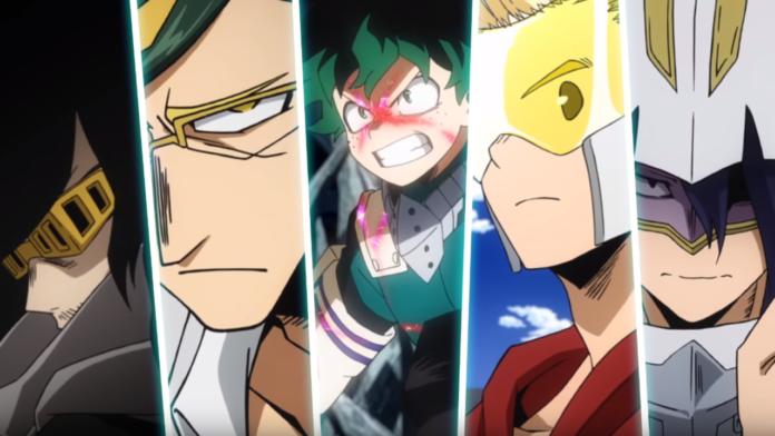 My Hero Academia Season 4 New Trailer