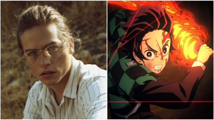 Dylan Sprouse Supports Demon Slayer