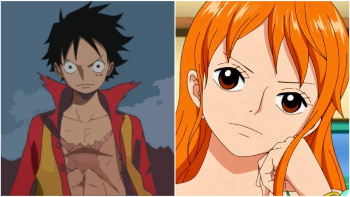 One Piece Luffy Helps Nami