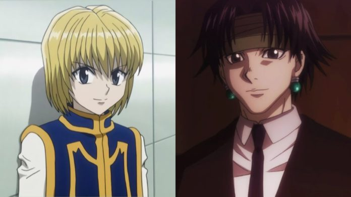 Hunter x Hunter Kurapika and Chrollo