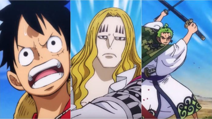One Piece Episode 898 Luffy Vs Hawkins