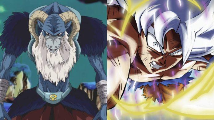 Ultra Instinct Goku vs Moro