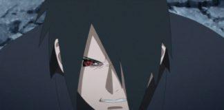 Reunion of Boruto and Sasuke