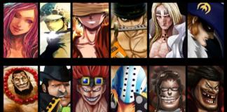 One Piece Creator Eiichiro Oda Unveils All the Supernova Pirate Ships