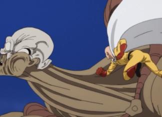 Saitama's Giant Mecha Gundam Art is on Another Level