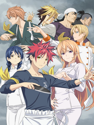 Food Wars Shokugeki no Soma Season 4 Anime Releases New Key Visual