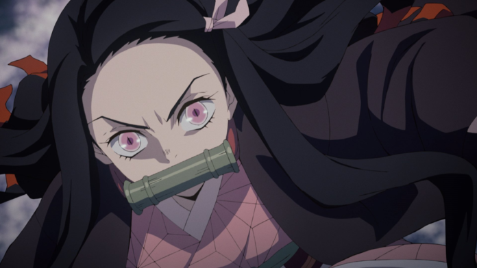 Demon Slayer Shares Blu-ray Cover Art With Angry Nezuko