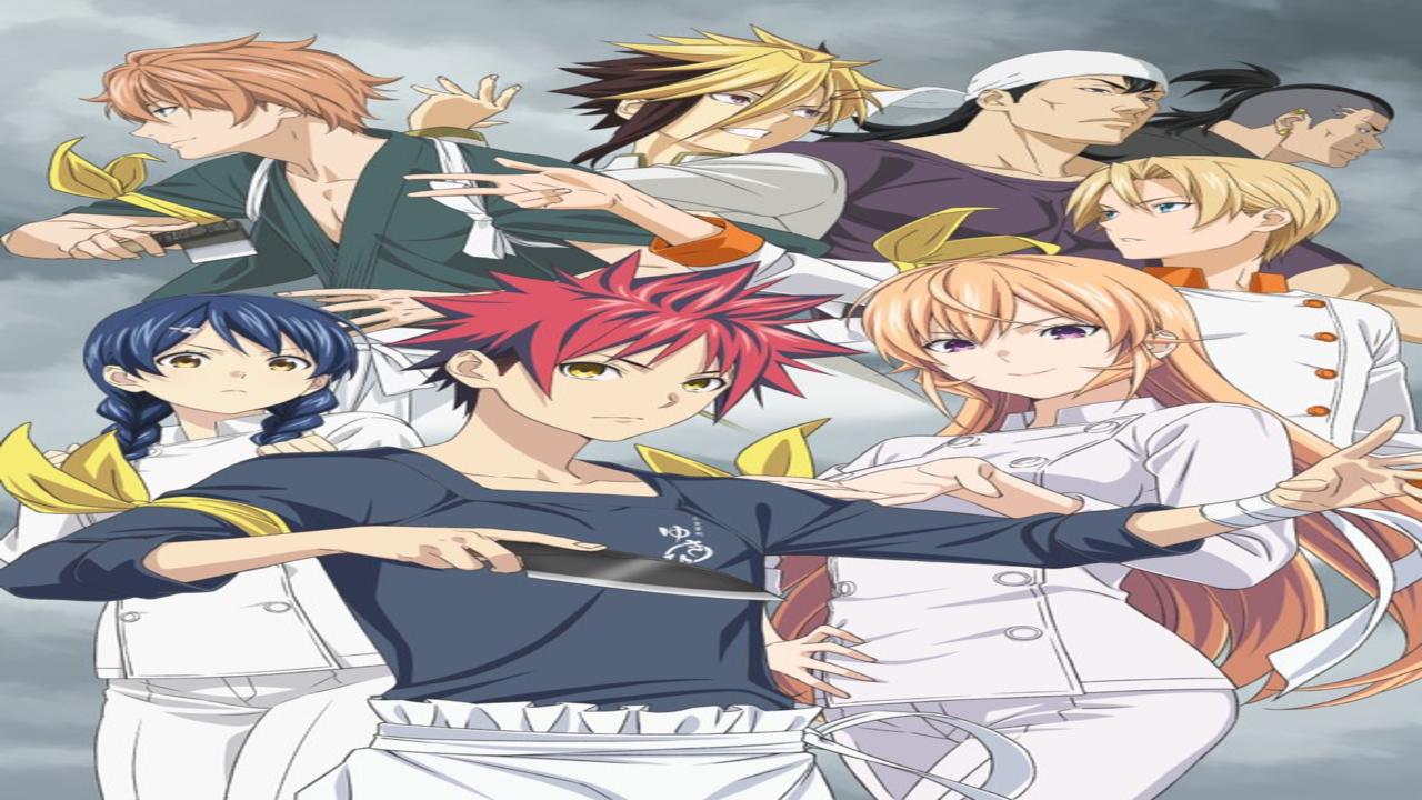 Food Wars Shokugeki no Soma Season 4 Anime Releases New Key Visual
