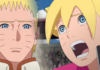 Boruto Chapter 38 Naruto and Sasuke
