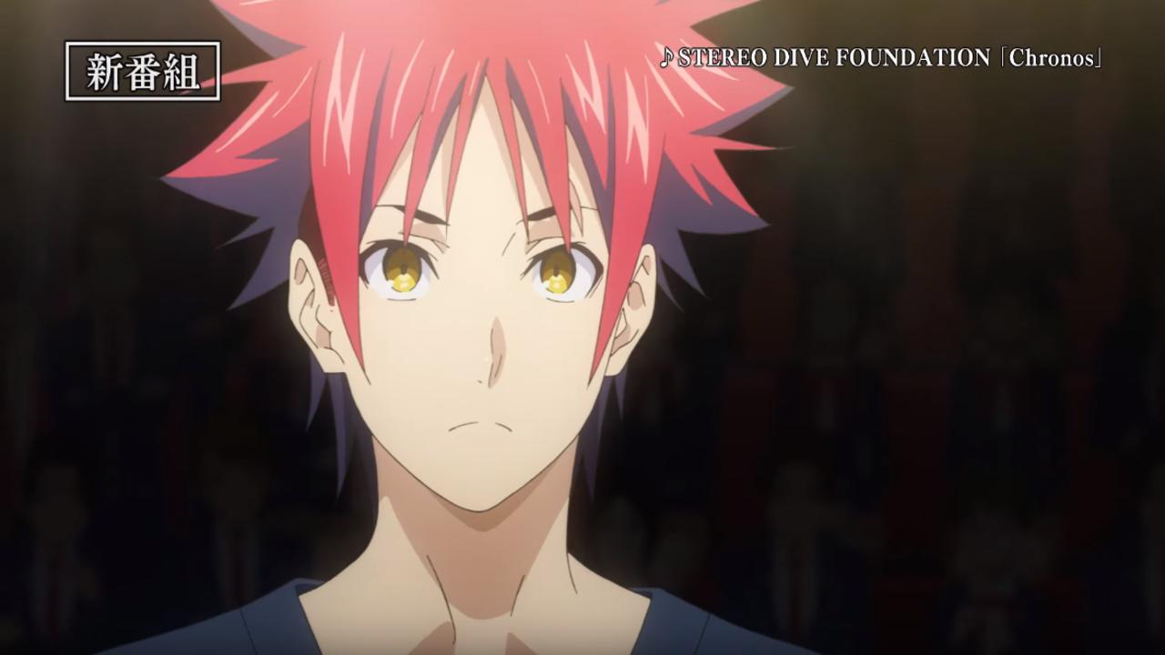 Food Wars Season 4 Anime Reveals First PV Video