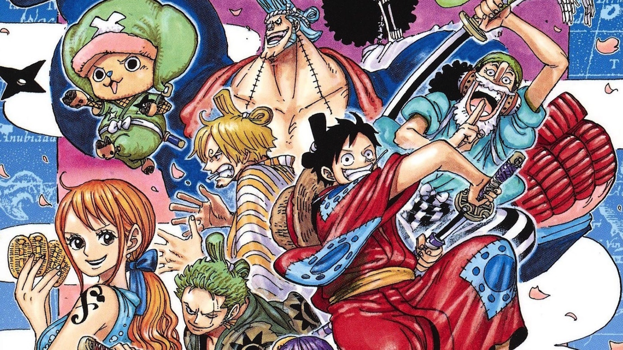 One Piece Chapter 956 Marines and Pirates