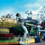 Attack on Titan Final Exhibition Shows of at Osaka Hirakata Park