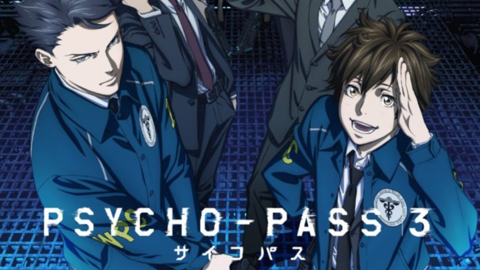 Psycho-Pass 3 Releases New PV That Reveals Premiere Date and More Details