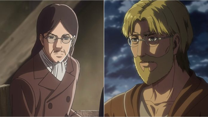 Attack on Titan Zeke and Grisha