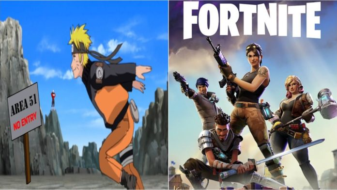Fortnite Naruto Run