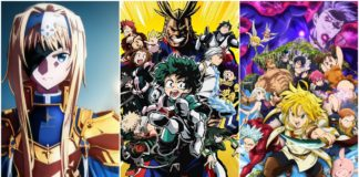 Anime For Fall Season 2019
