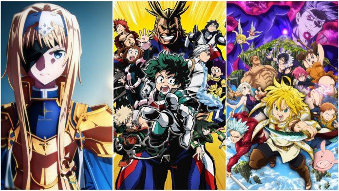 Anime For Fall Season 2019