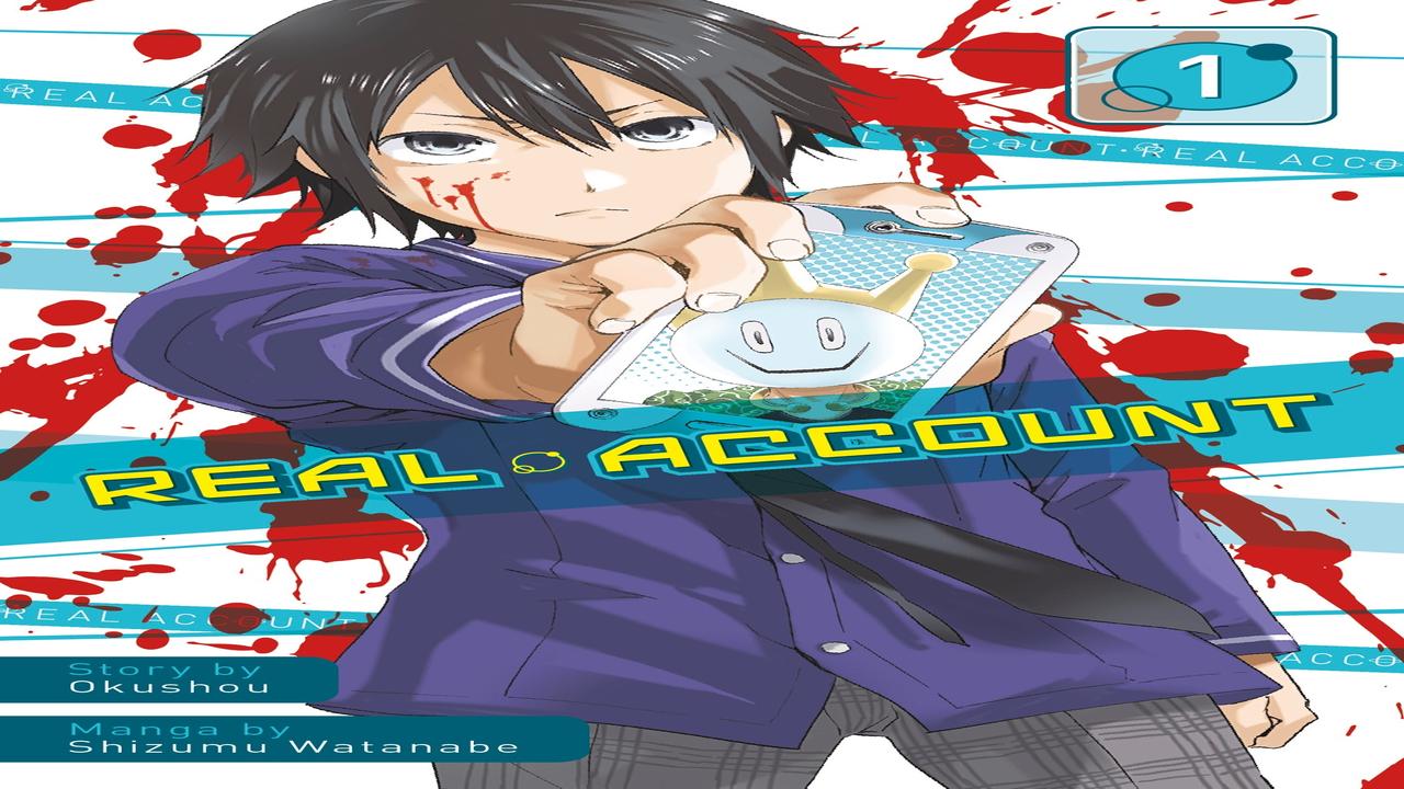 Real Account Manga