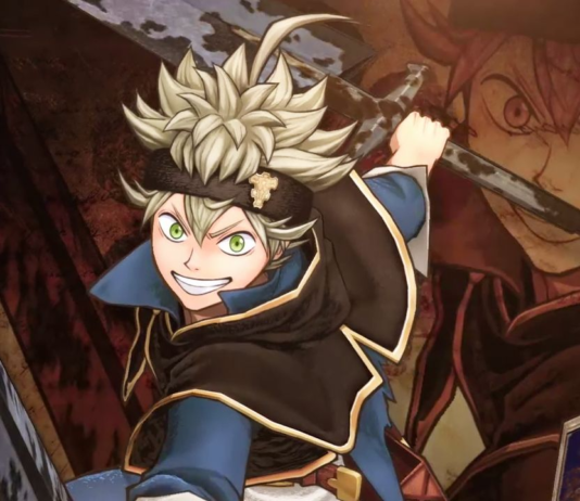 Black Clover Asta Art Imagines His Transfer to My Hero Academia