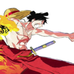 One Piece Amazes Fans with Luffy's Powerful Red Hawk