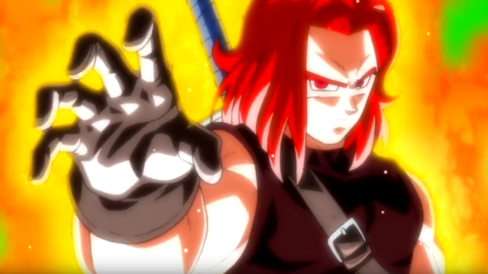 Super Dragon Ball Heroes New Opening Reveals Super Saiyan God Trunks