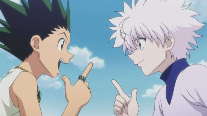Hunter x Hunter's Gon and Killua