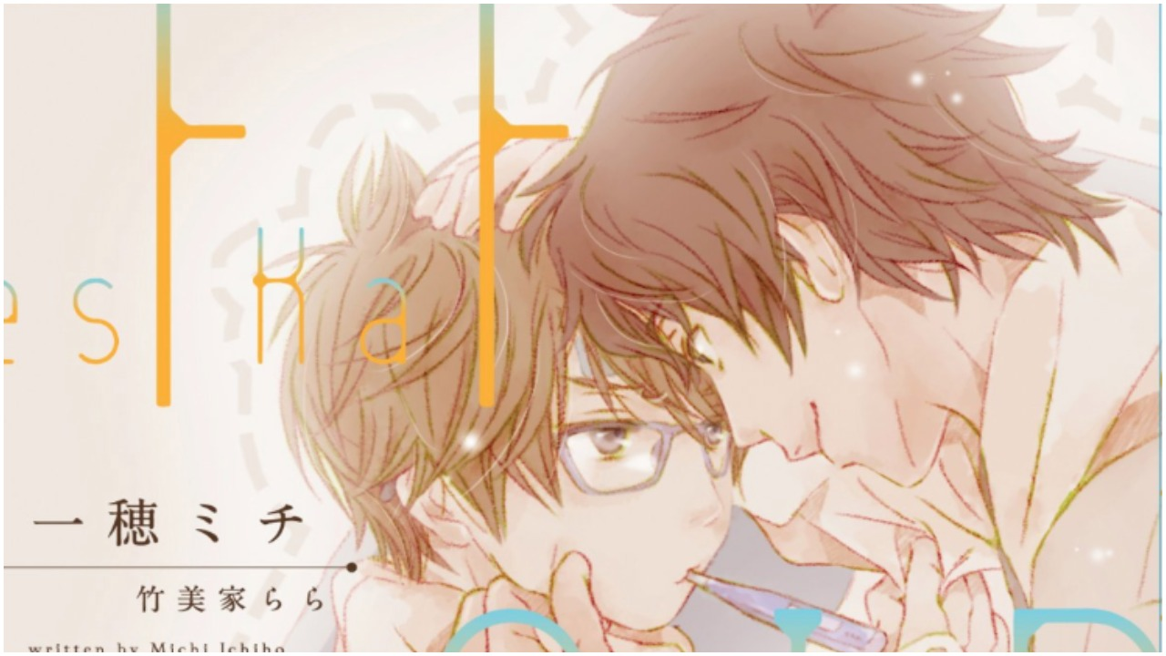 Yes, No, or Maybe Half? Boys-Love Novel Series Gets TV Anime