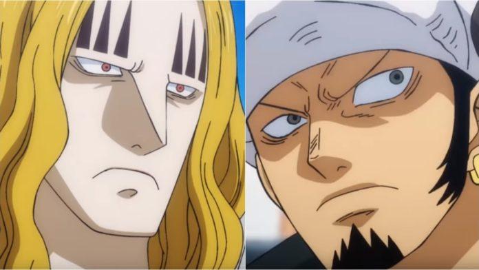 One Piece Episode 906: Trafalgar Law vs Basil Hawkins