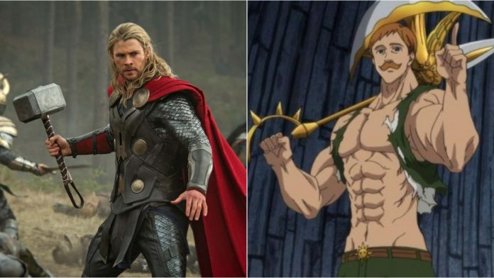 Escanor vs Thor