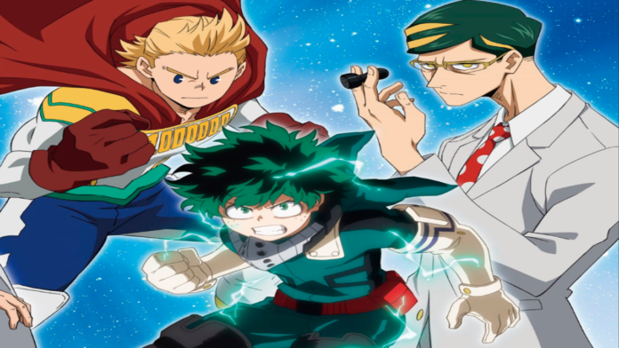 My Hero Academia Season 4 On Toonami