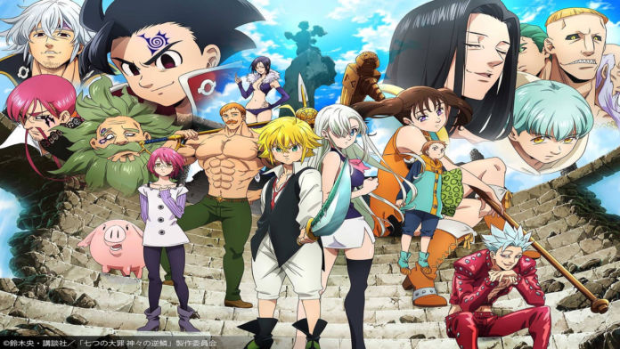 The Seven Deadly Sins Season 3 Listed With 24 Episodes