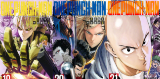 One-Punch Man New Volume 21 Makes Manga's Most Beautiful Cover Spread