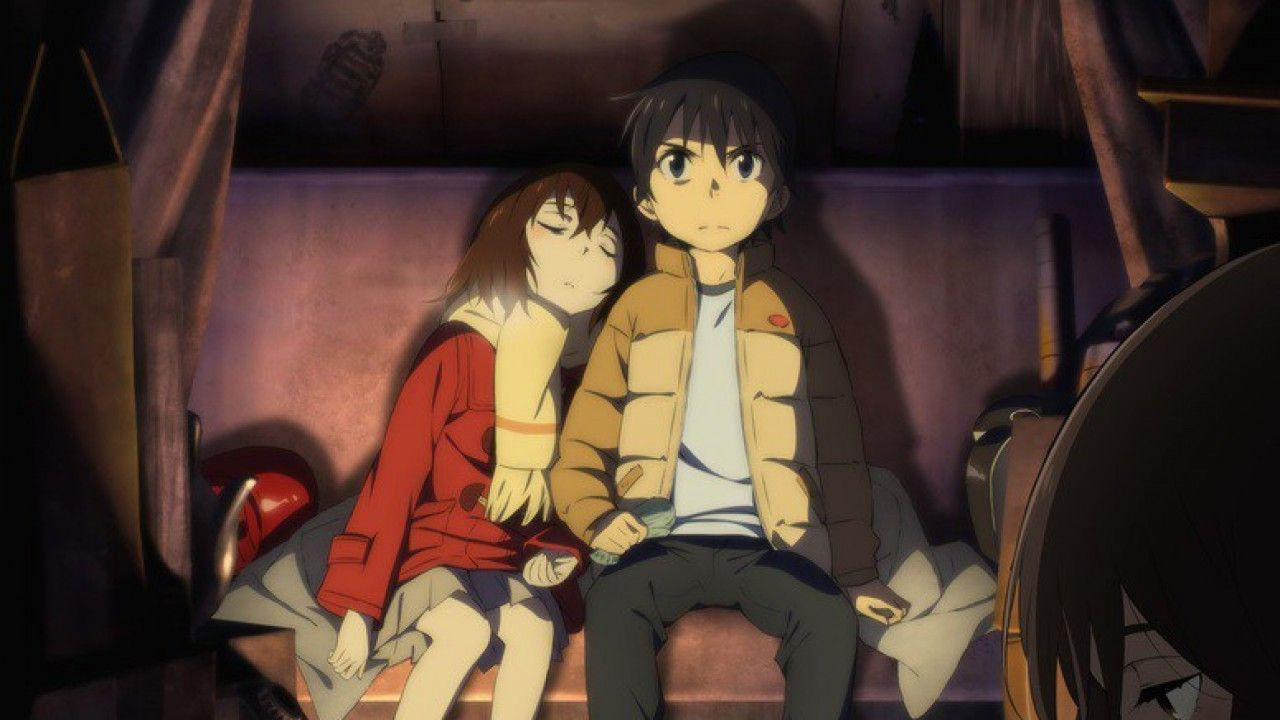 Elex Media Licenses The 'Erased' Manga