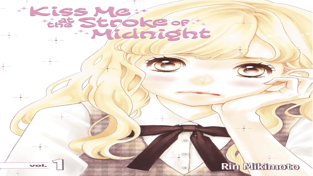 Kiss Me at the Stroke of Midnight Manga